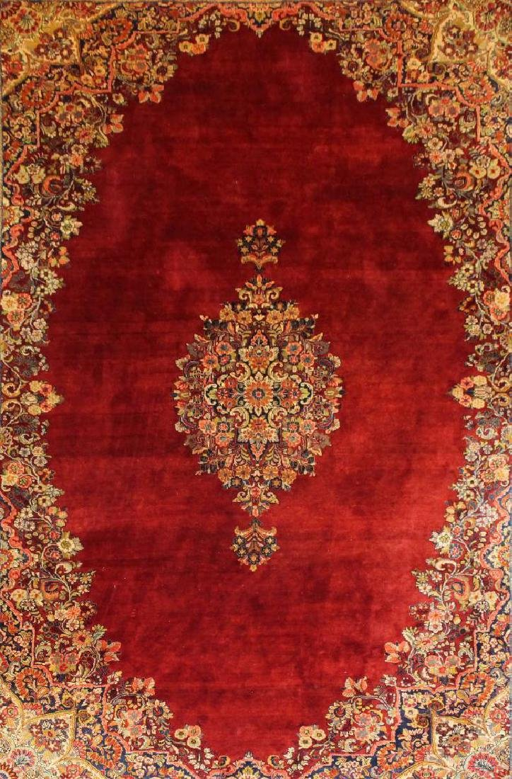 Sarouk Hand Woven Large Room Size Rug