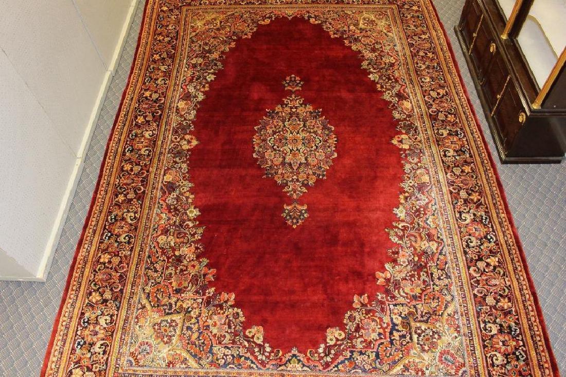 Sarouk Hand Woven Large Room Size Rug - 2