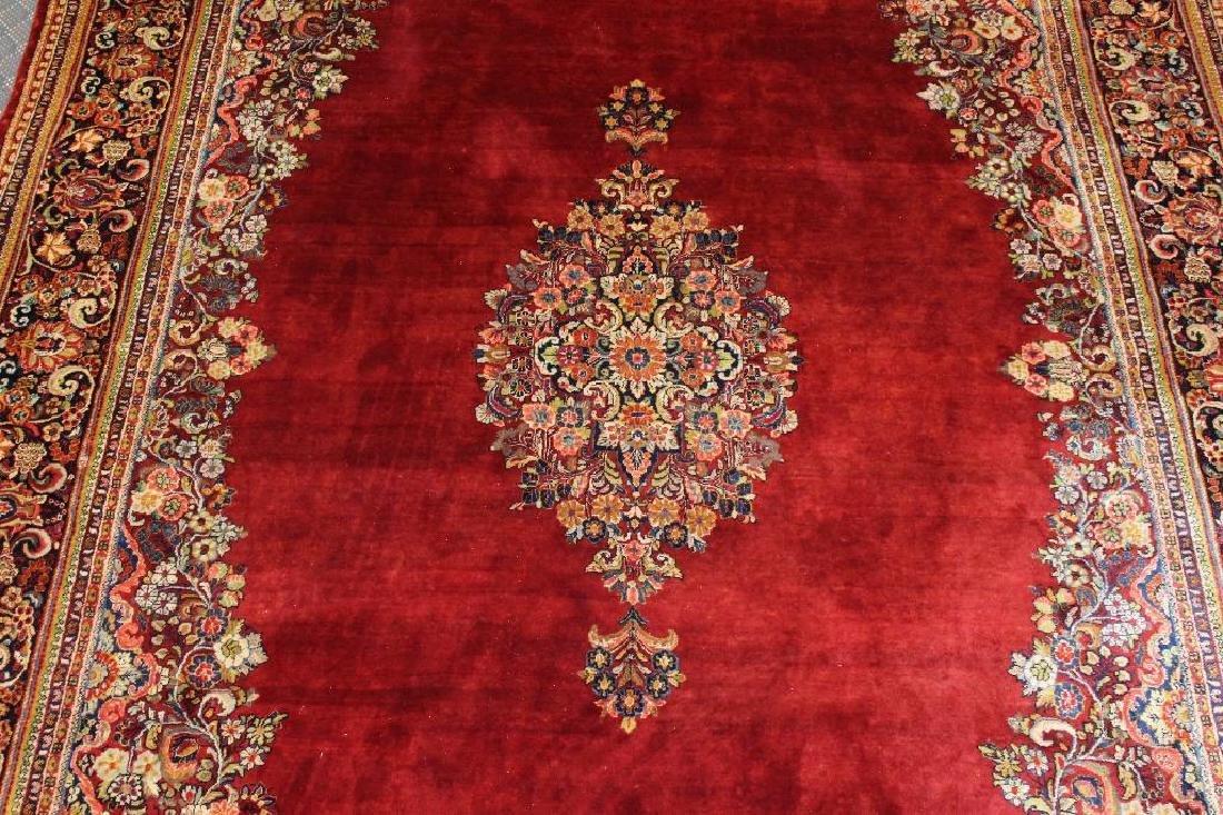 Sarouk Hand Woven Large Room Size Rug - 4