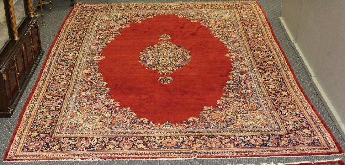 Sarouk Hand Woven Large Room Size Rug - 6