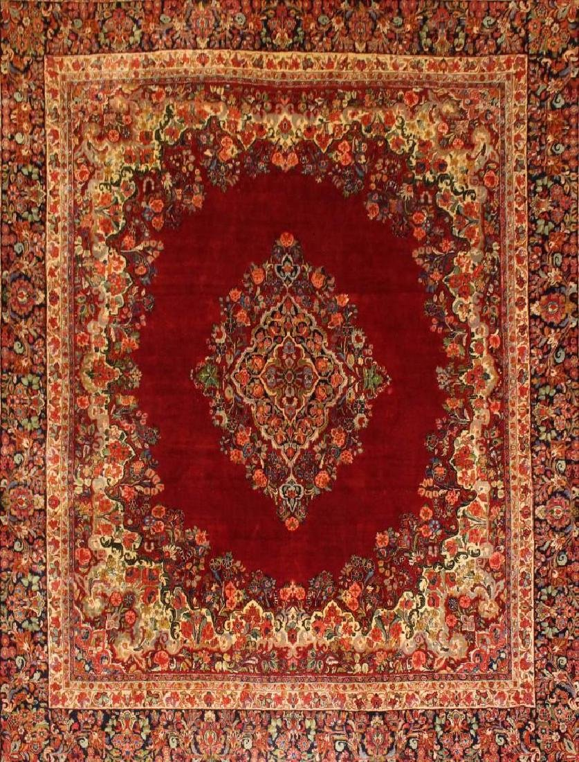 Sarouk Hand Woven Room Size Rug