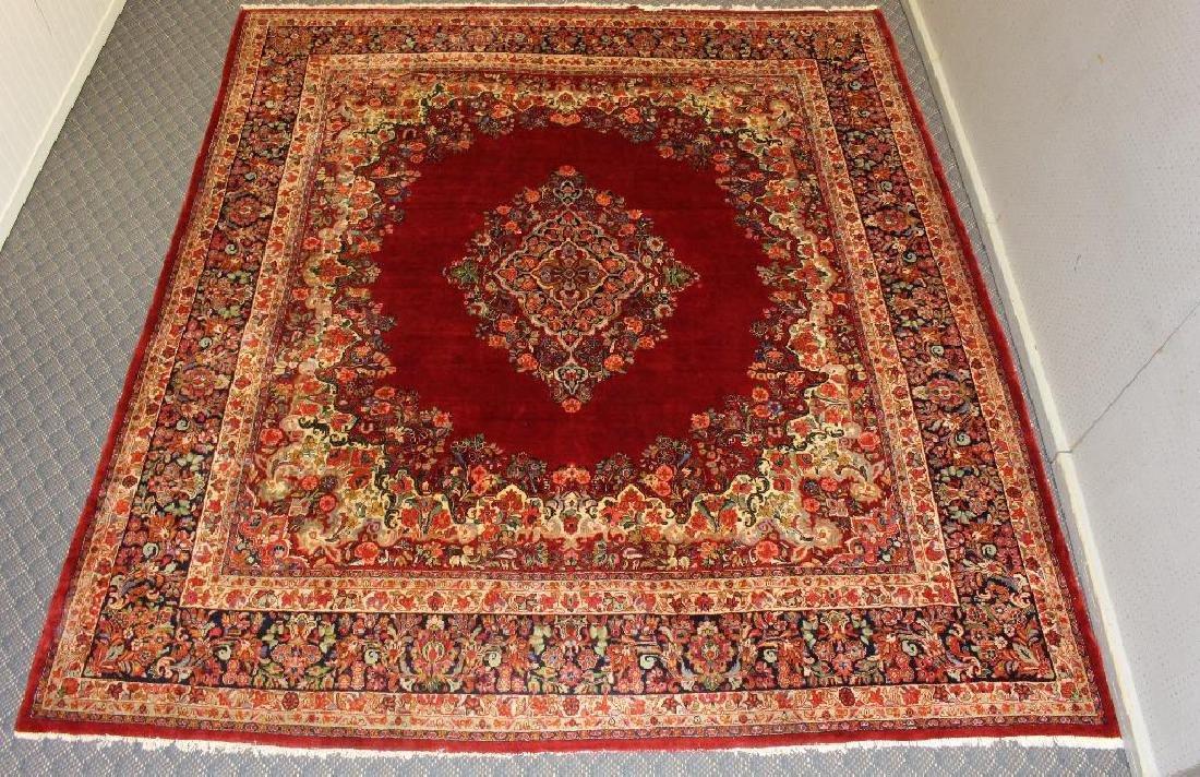 Sarouk Hand Woven Room Size Rug - 2