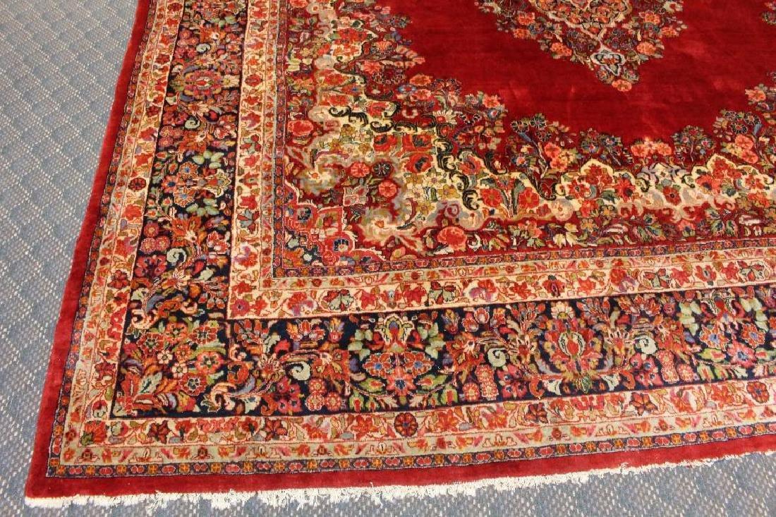 Sarouk Hand Woven Room Size Rug - 3