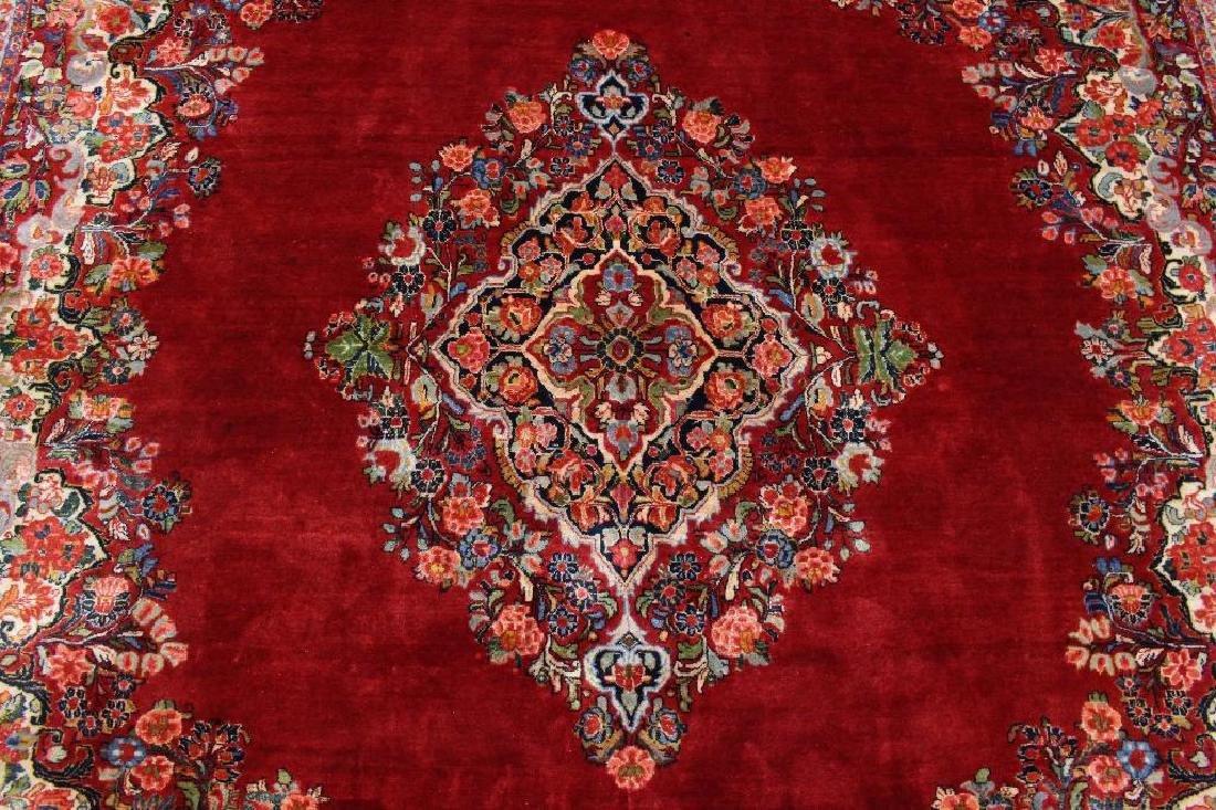 Sarouk Hand Woven Room Size Rug - 4