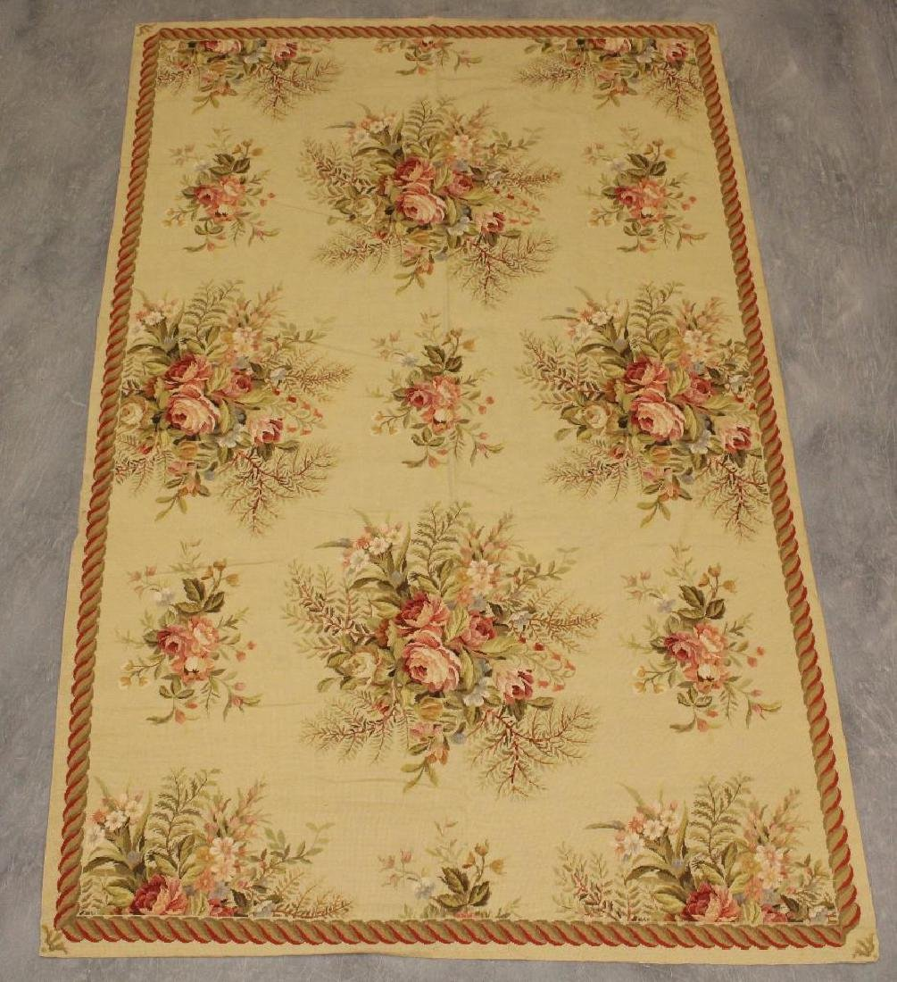 Hand Woven Aubusson Floor Covering
