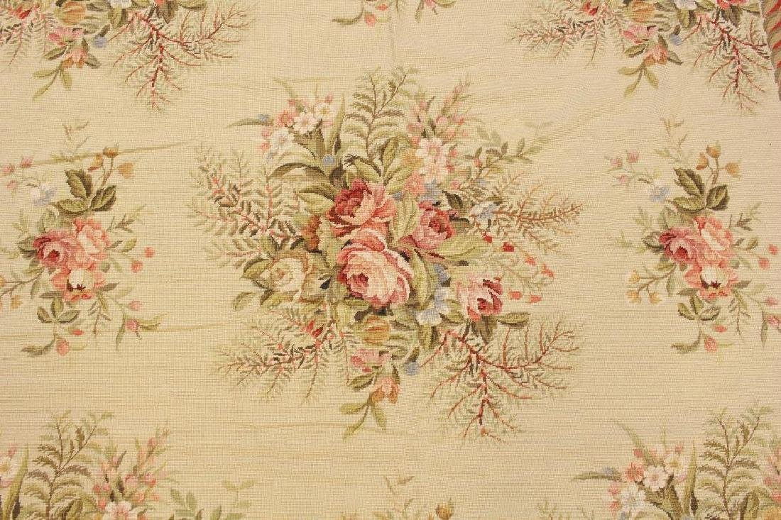 Hand Woven Aubusson Floor Covering - 2