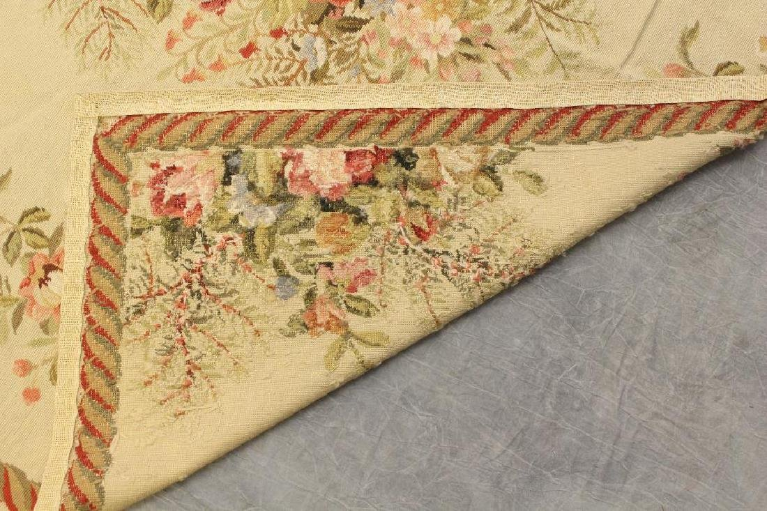 Hand Woven Aubusson Floor Covering - 3