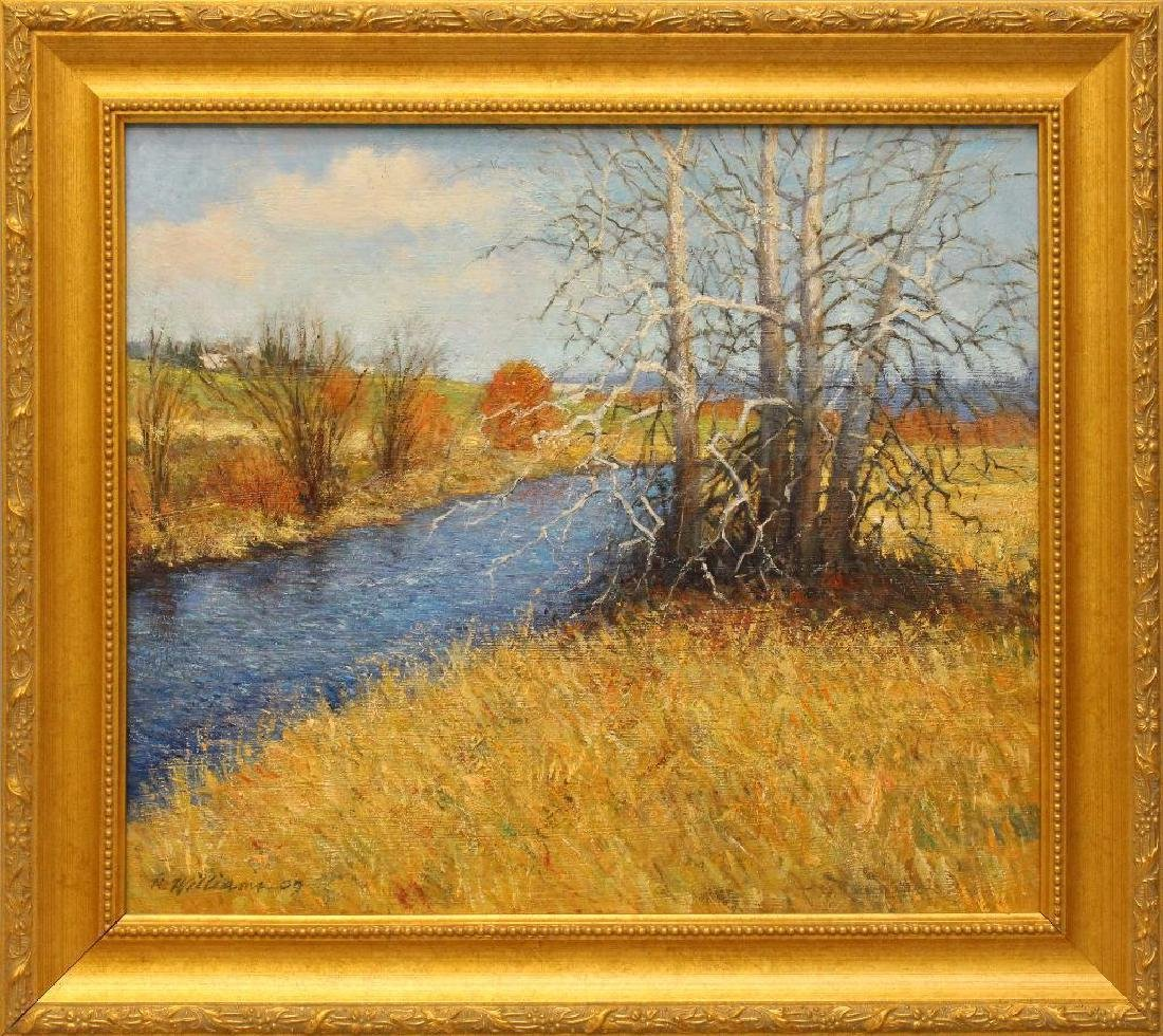 Robert Williams (20th/21st century) Fall Riverscape