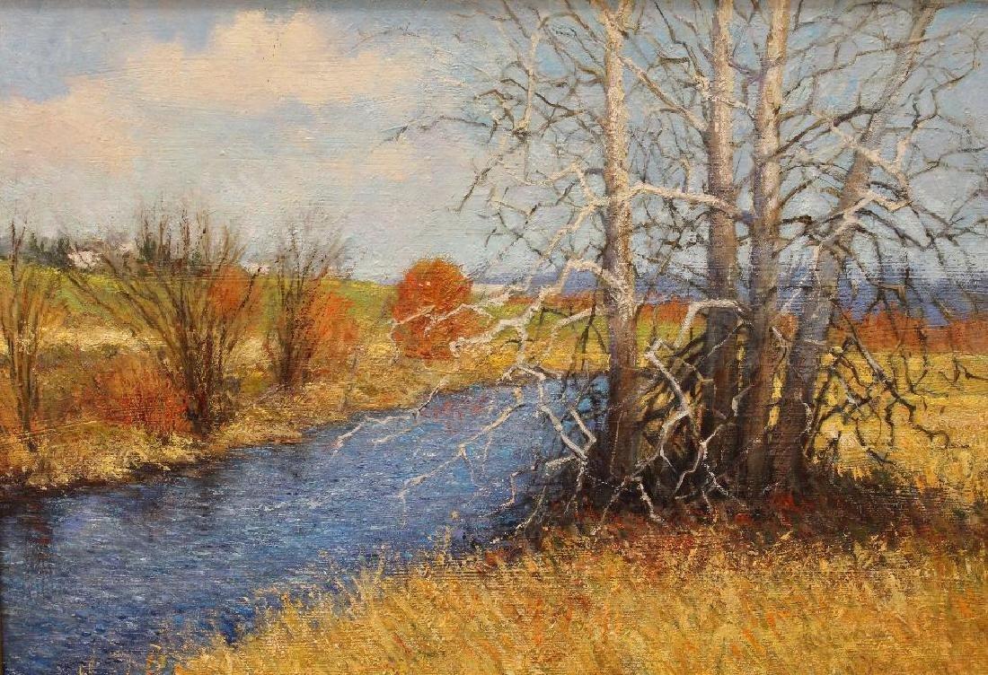 Robert Williams (20th/21st century) Fall Riverscape - 2