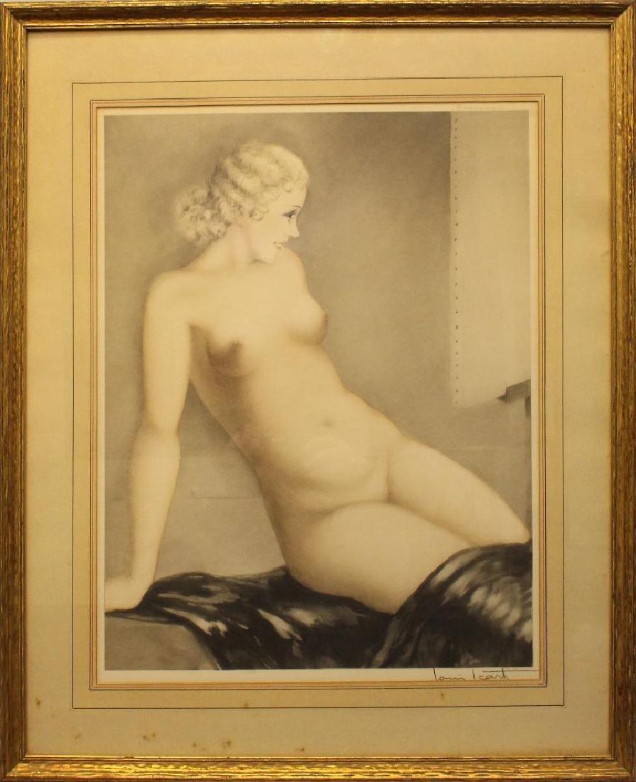 "Louis Icart (1888-1950) ""My Model"""