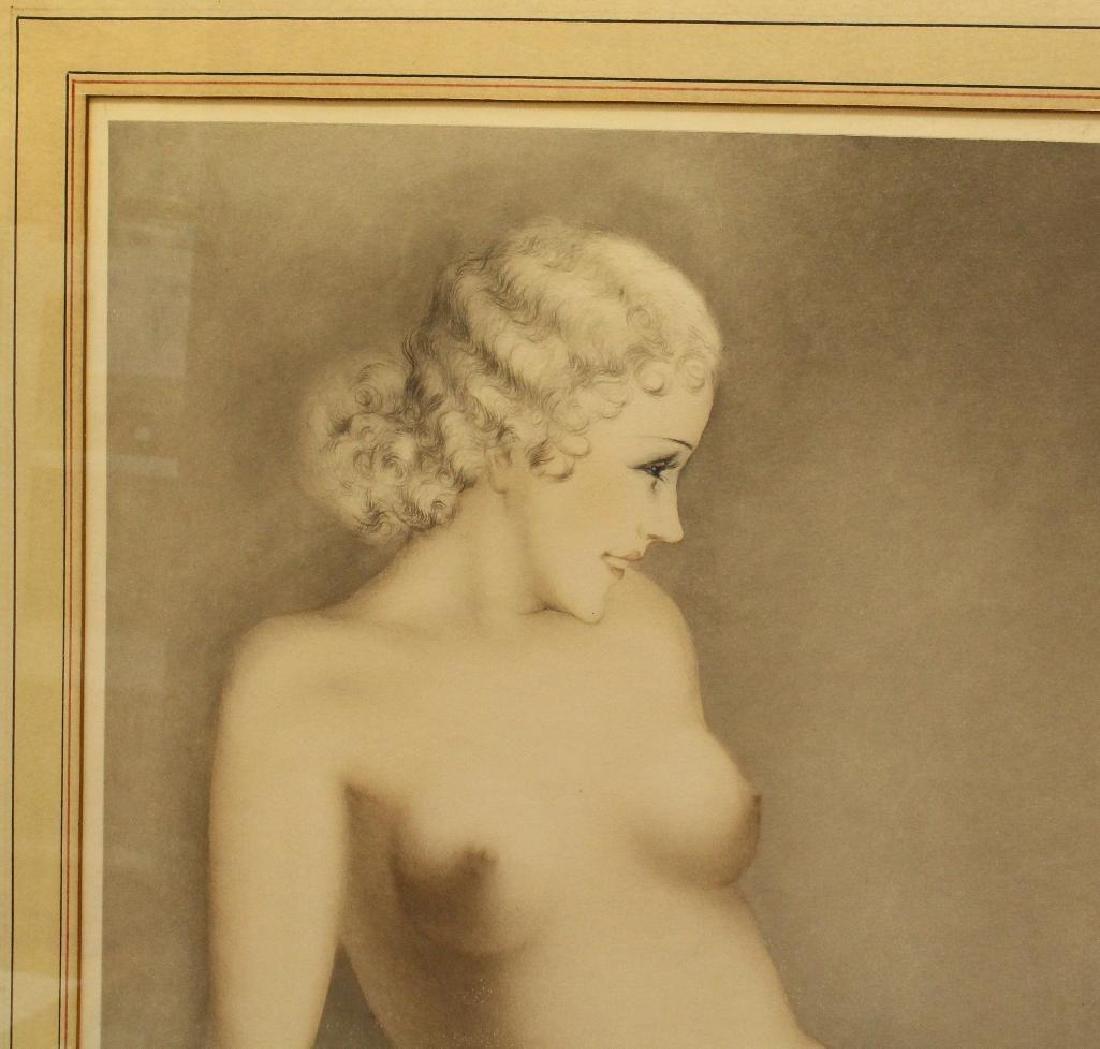 "Louis Icart (1888-1950) ""My Model"" - 2"