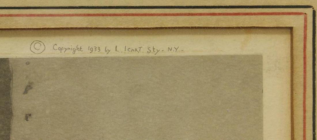 "Louis Icart (1888-1950) ""My Model"" - 4"