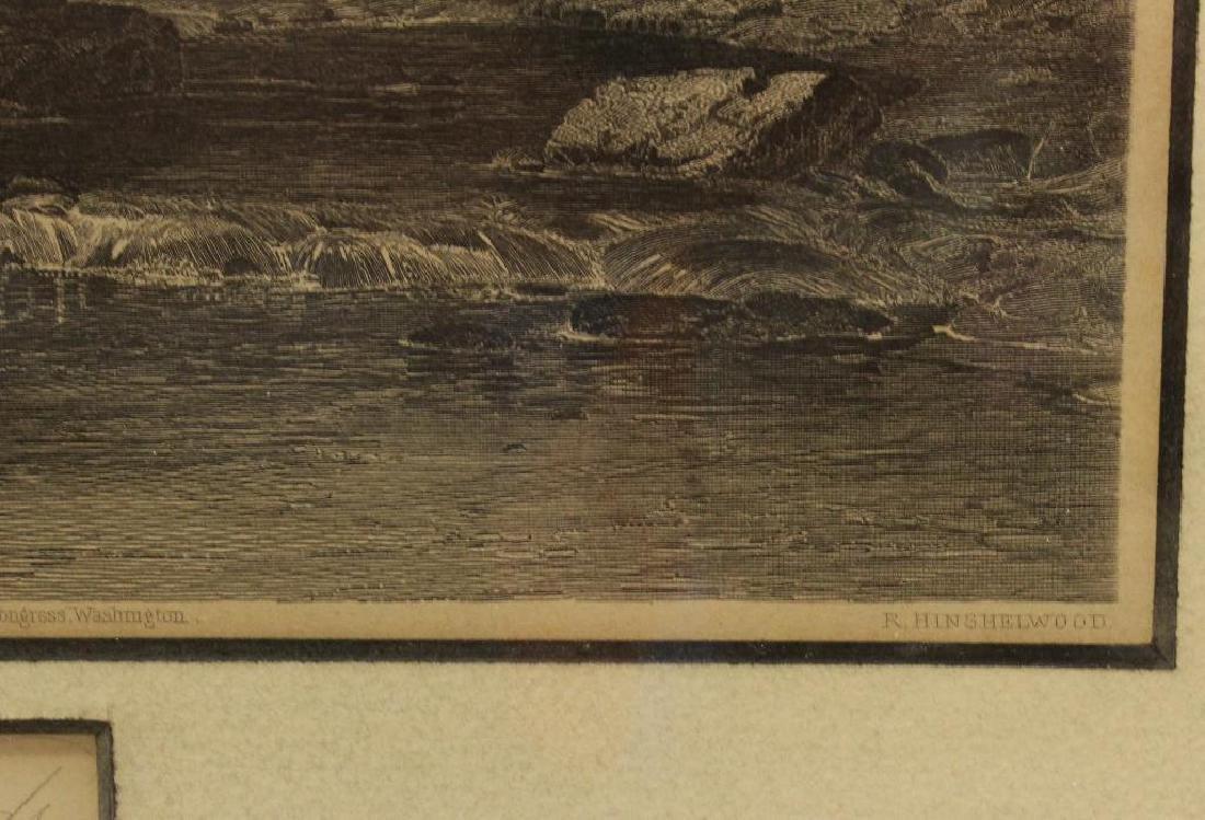 Pair of Woodland Etchings - 3