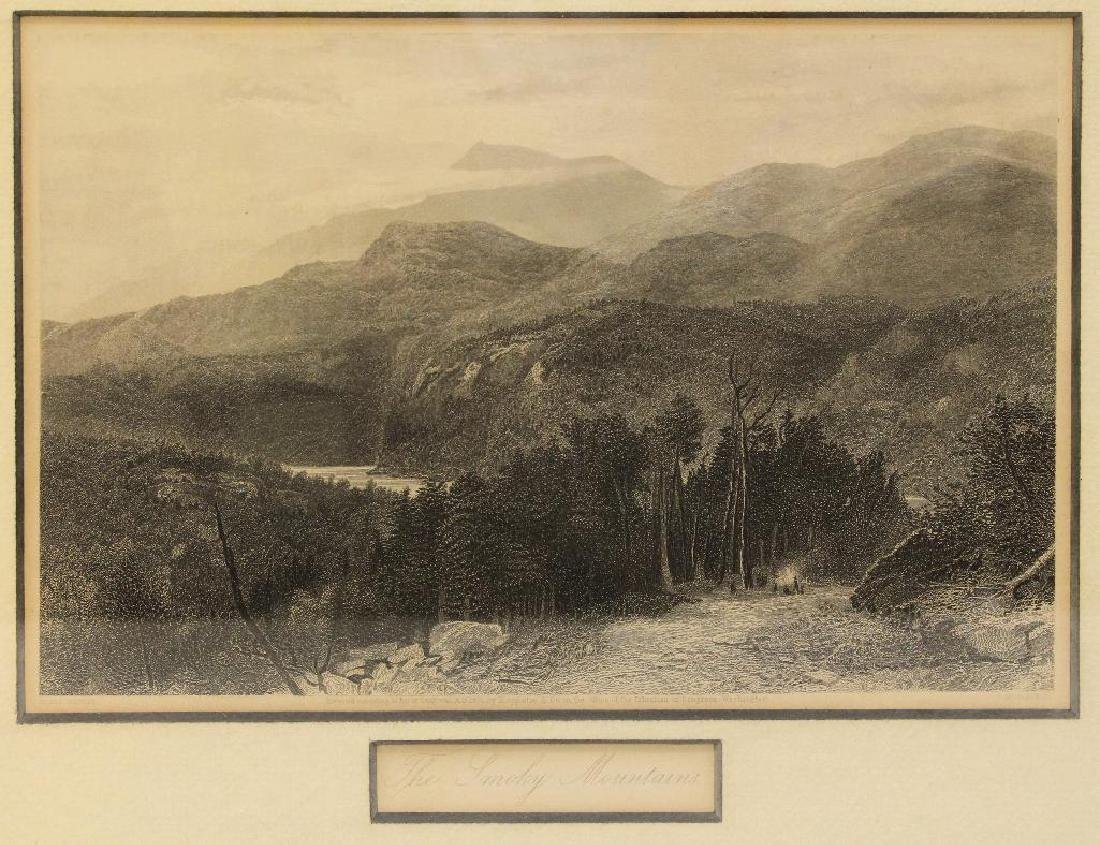 Pair of Woodland Etchings - 4