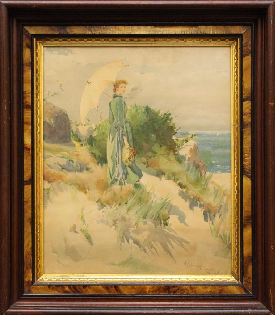 Rhoda Holmes Nichols (1854-1930, New York, Connecticut,