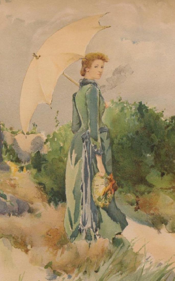 Rhoda Holmes Nichols (1854-1930, New York, Connecticut, - 2