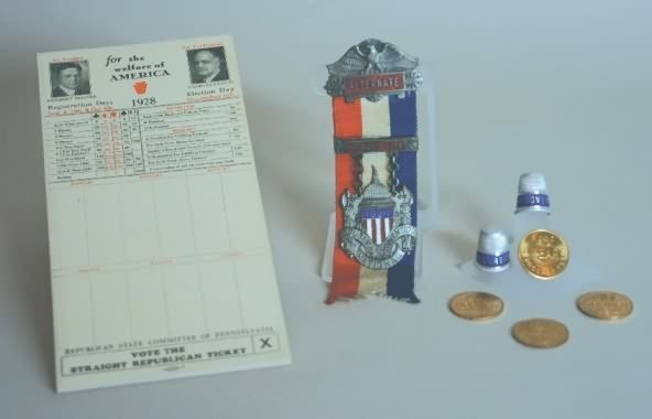3001: Republican National Convention Items-1928.