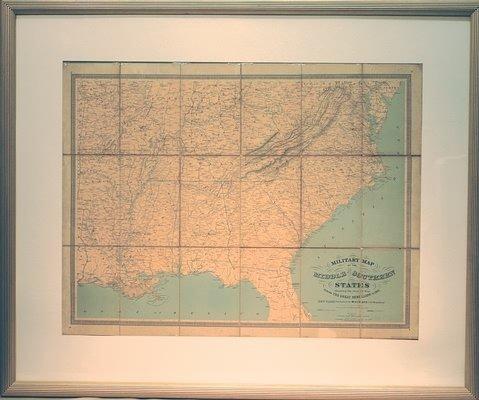 3019: Civil War Map.