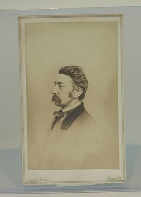 3022: CDV of Marshall Lefferts, Colonel 7th NYNG.