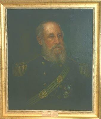 3023: Painting of Civil War Veteran.
