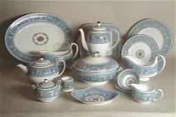 3714 Set of Wedgwood Bone China Dinnerware