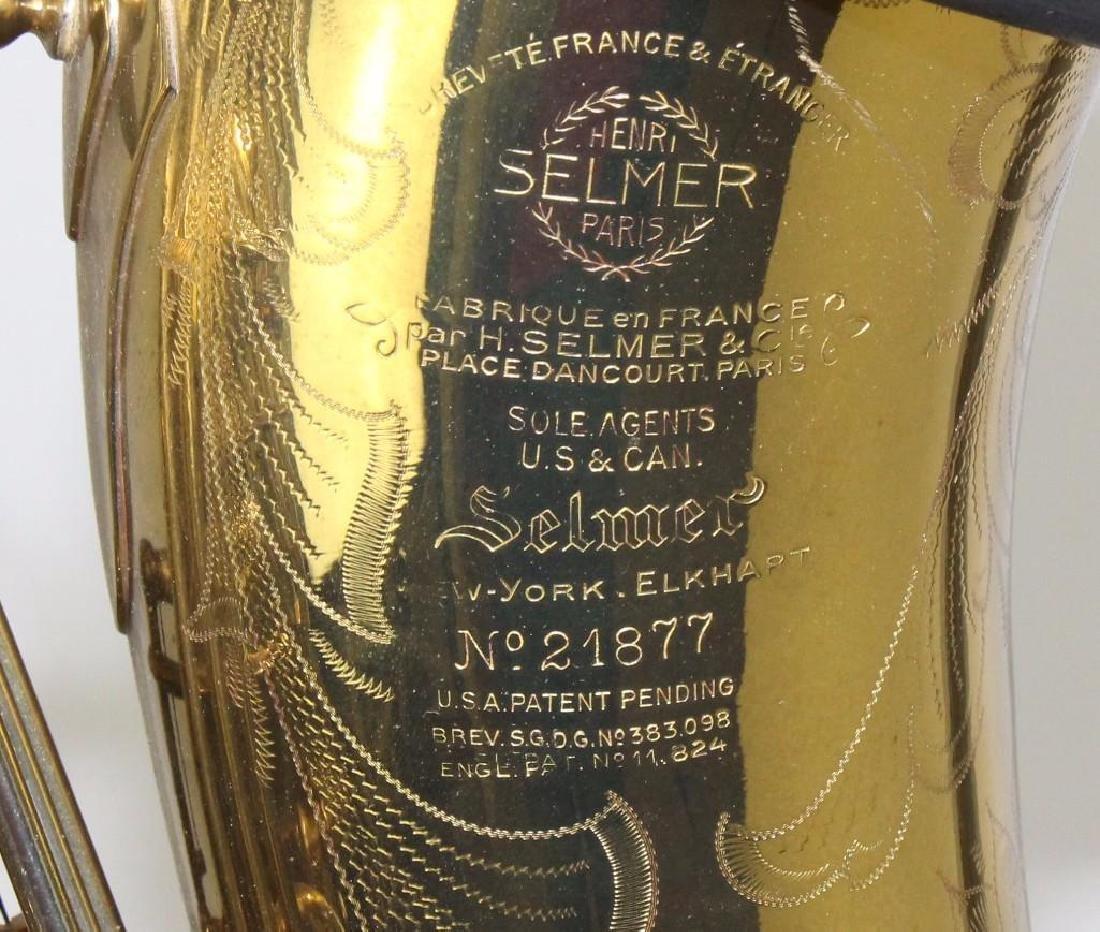 Henri Selmer Tenor Saxophone - 2