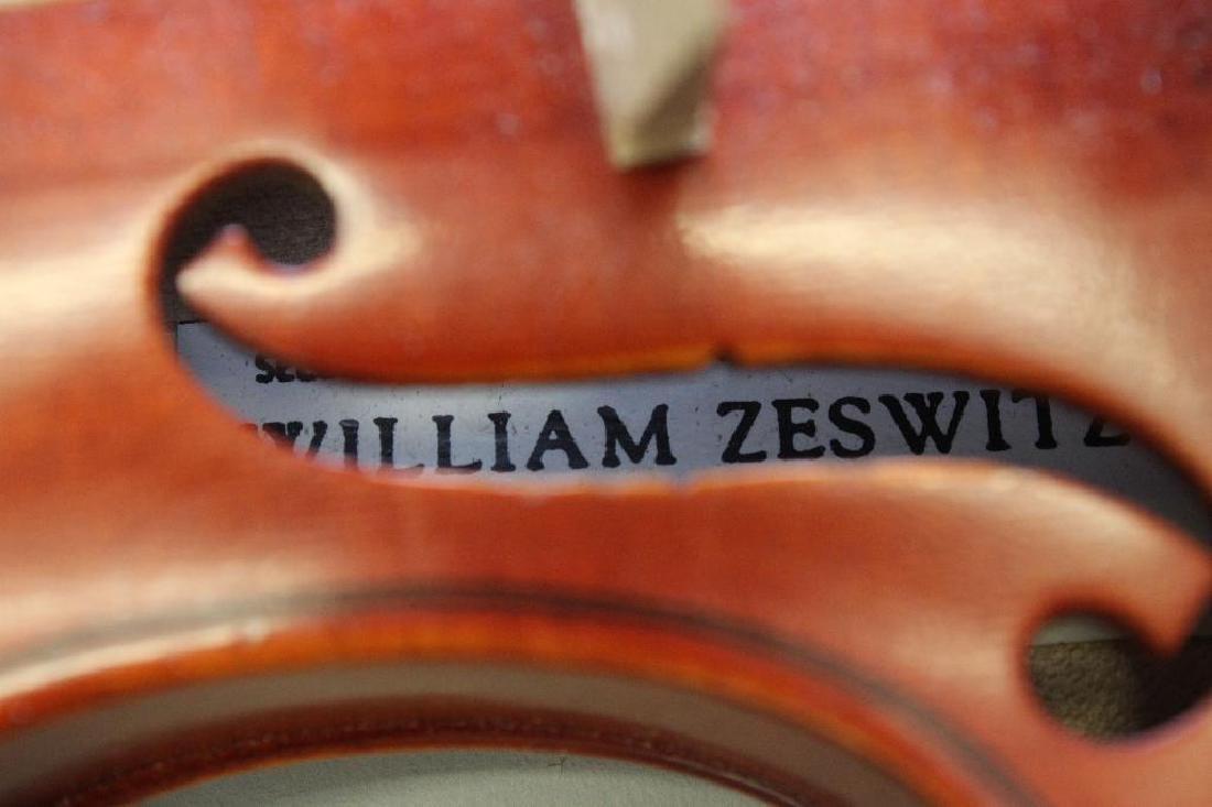 William Zeswitz Violin - 3