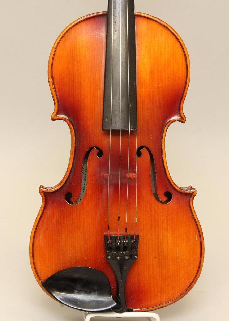 Karl Meisel Stradivarius copy Violin - 2