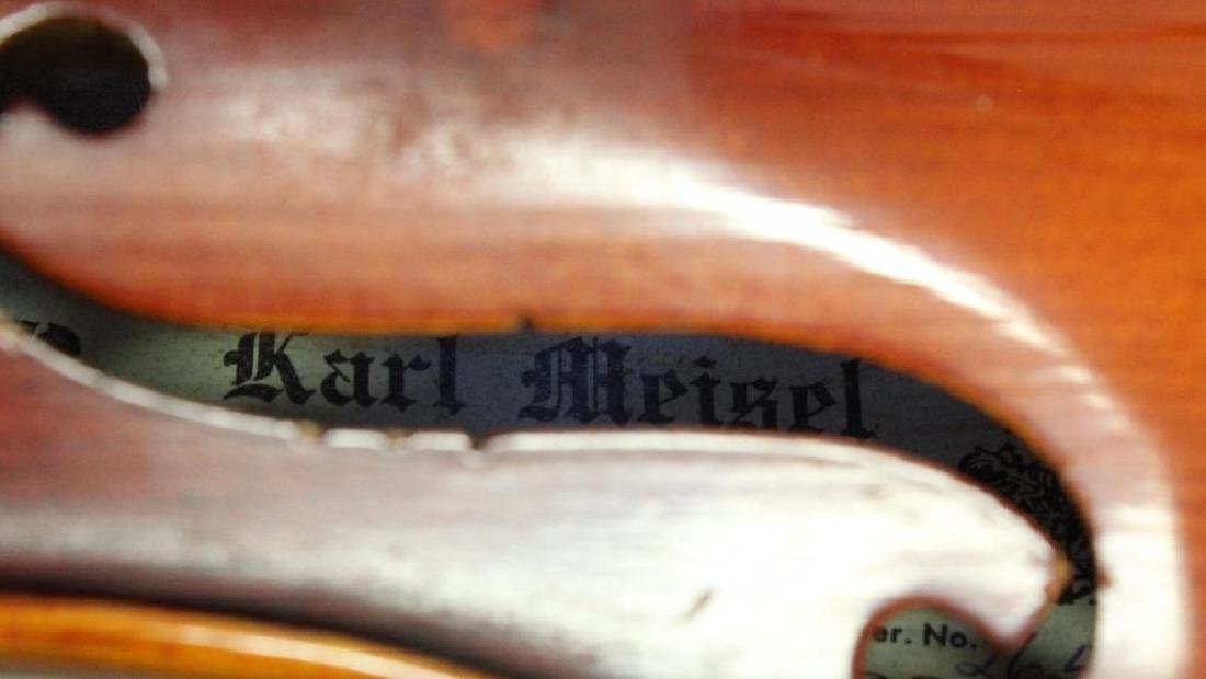 Karl Meisel Stradivarius copy Violin - 5