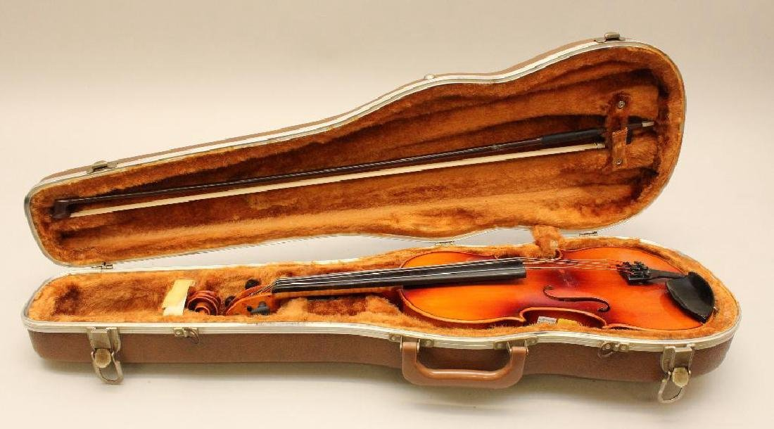 Karl Meisel Stradivarius copy Violin - 8