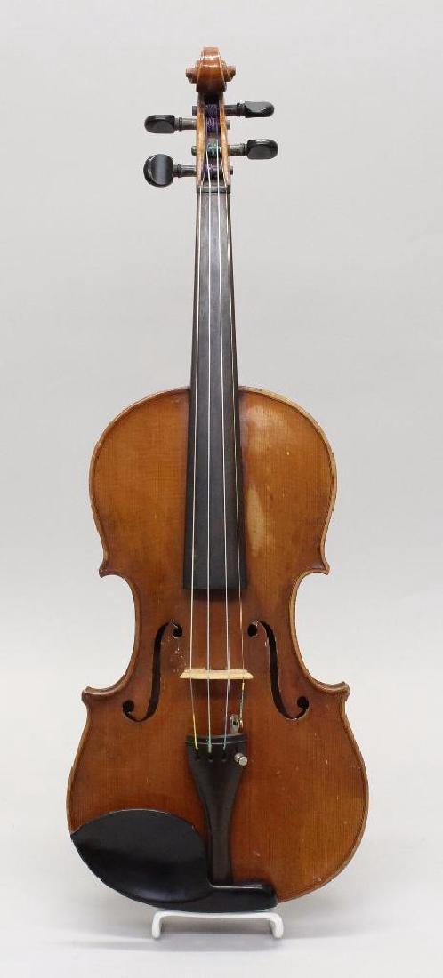 Wilmer E. Comstock Violin