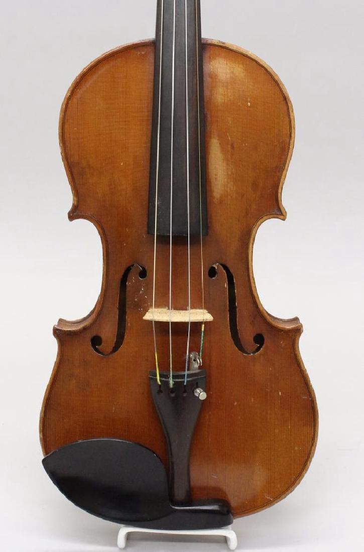 Wilmer E. Comstock Violin - 2
