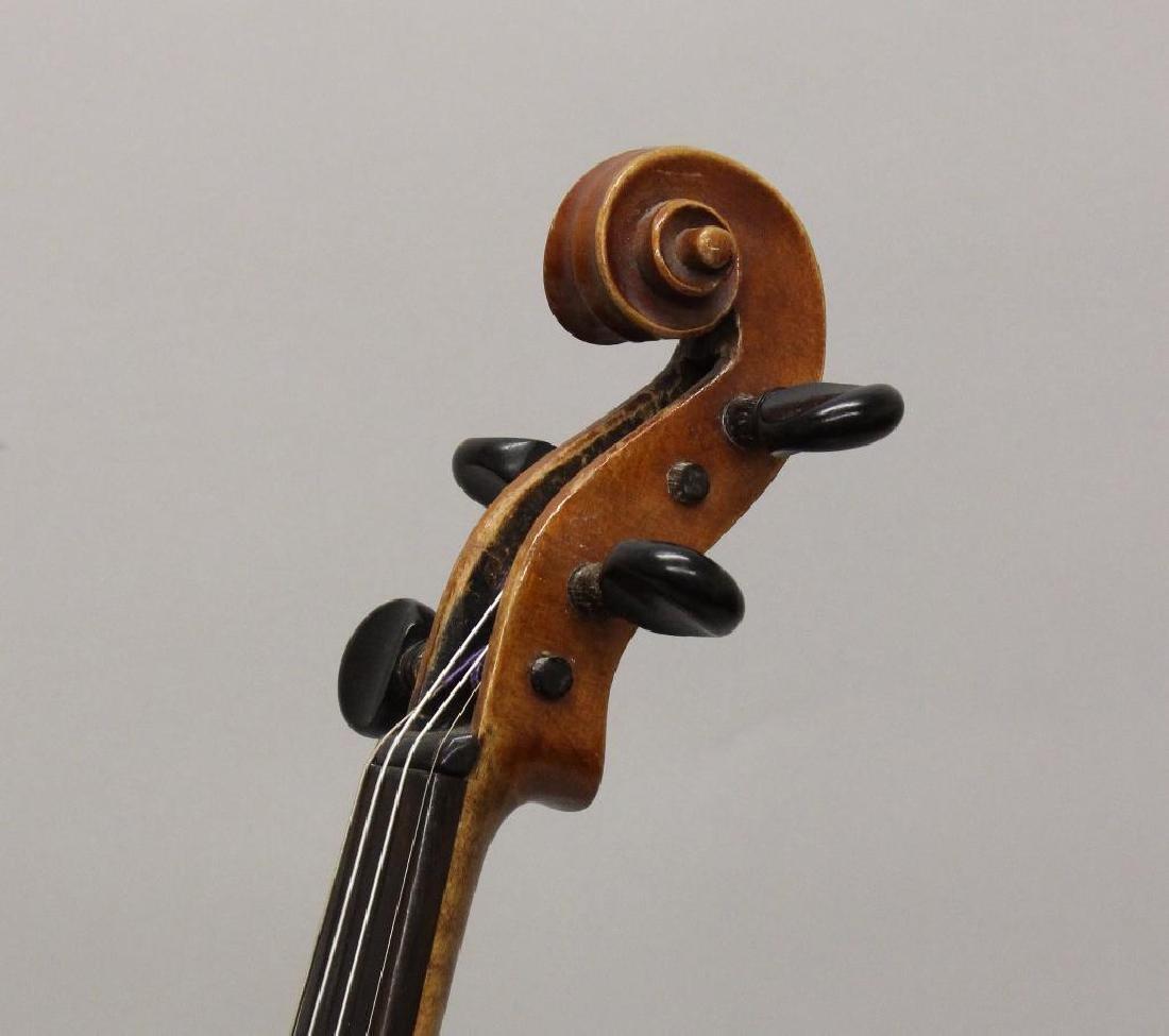 Wilmer E. Comstock Violin - 3