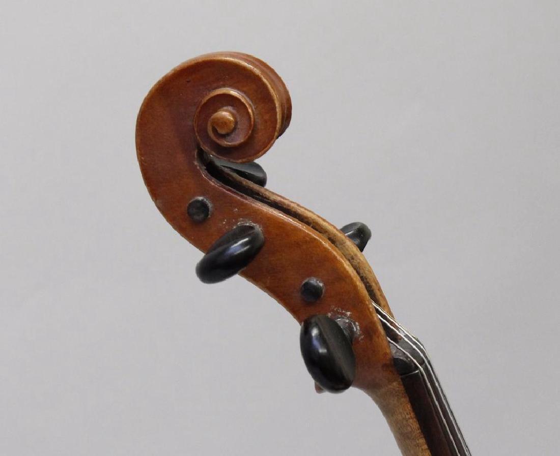 Wilmer E. Comstock Violin - 4