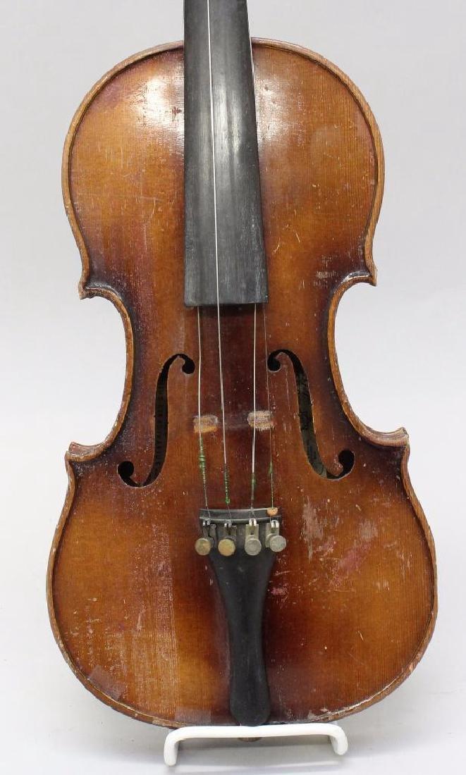 E.R. Pretzscner Stradivarius Model Violin - 2