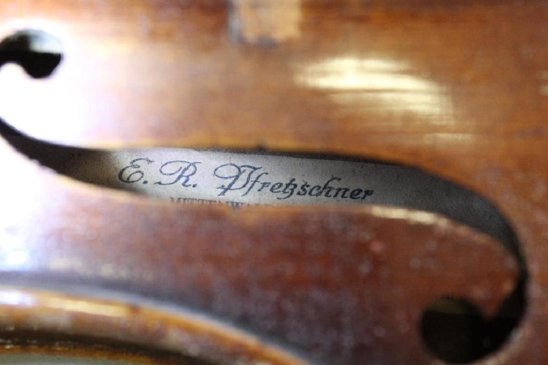 E.R. Pretzscner Stradivarius Model Violin - 4
