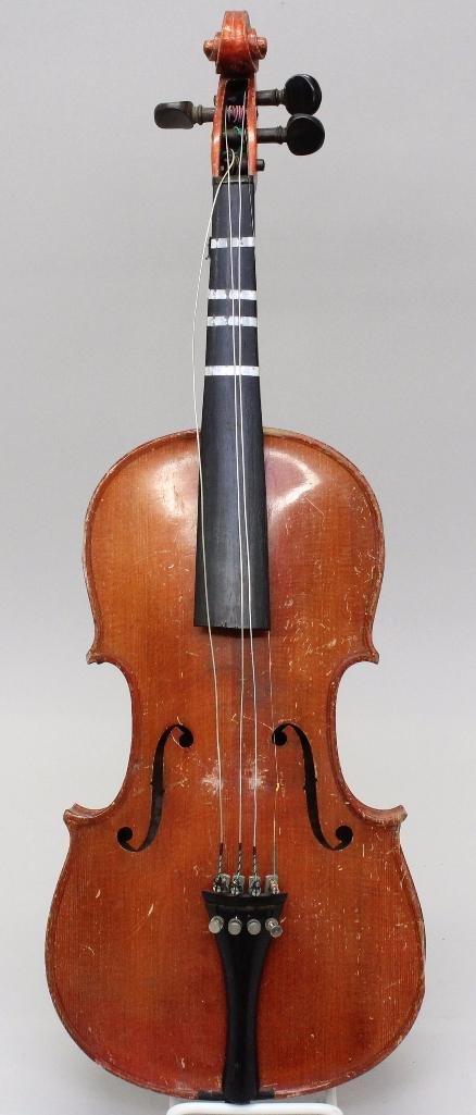 German Unlabeled Violin