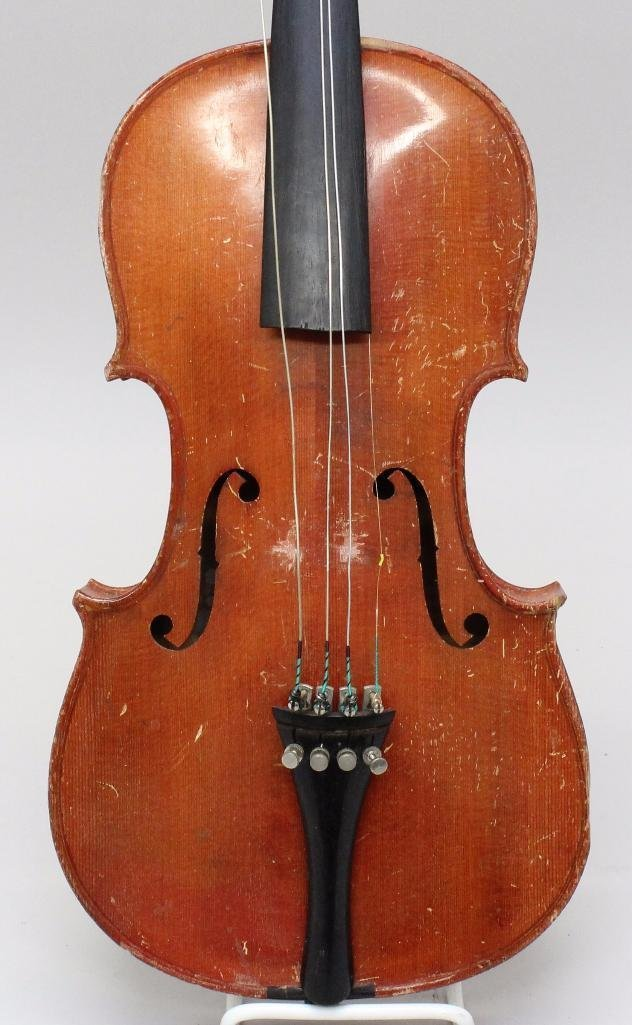 German Unlabeled Violin - 2