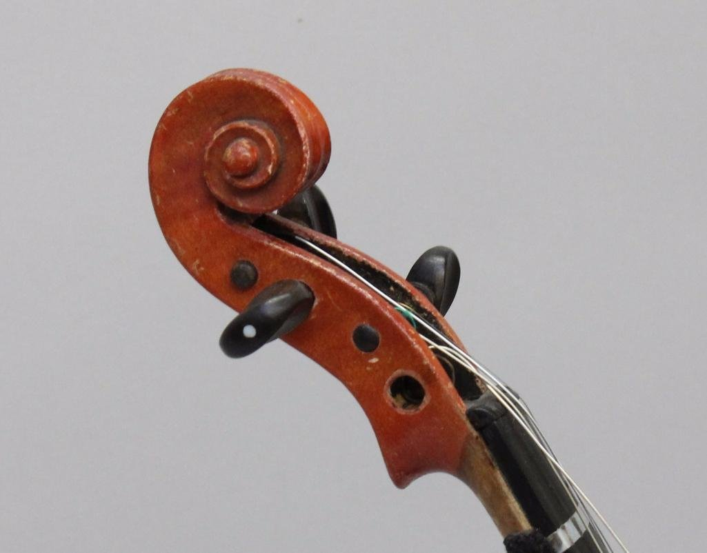 German Unlabeled Violin - 4
