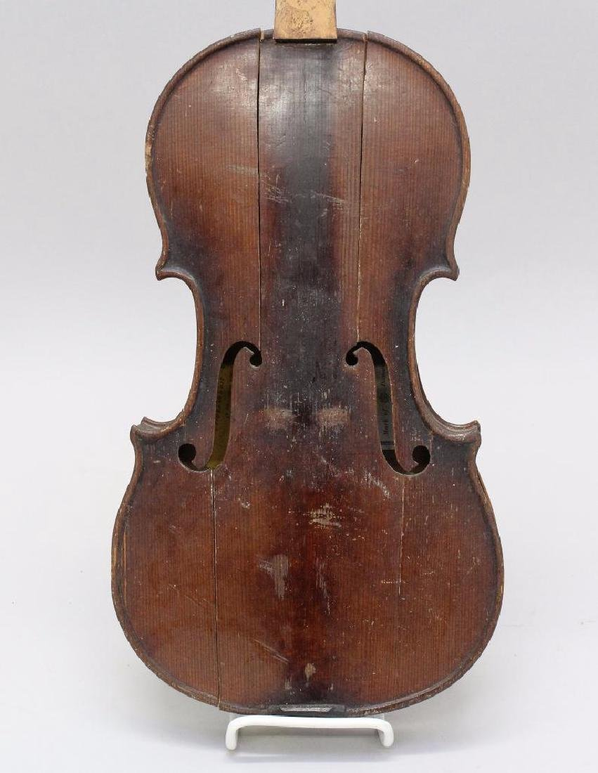 Pair of Labeled Violins - 2