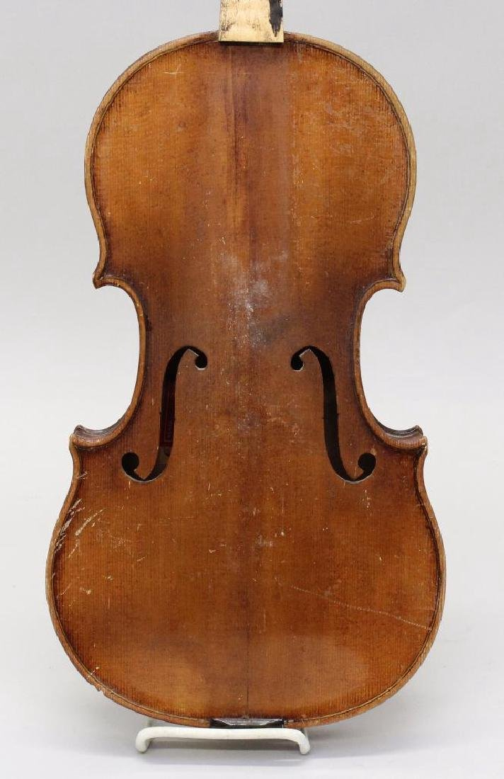 Pair of Labeled Violins - 5