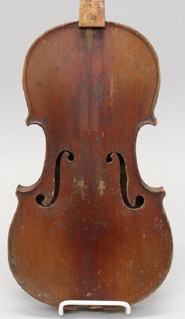 Three Labeled Violins - 2