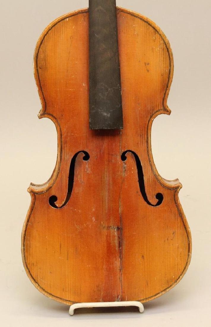 Pair of Unlabled Violins - 2