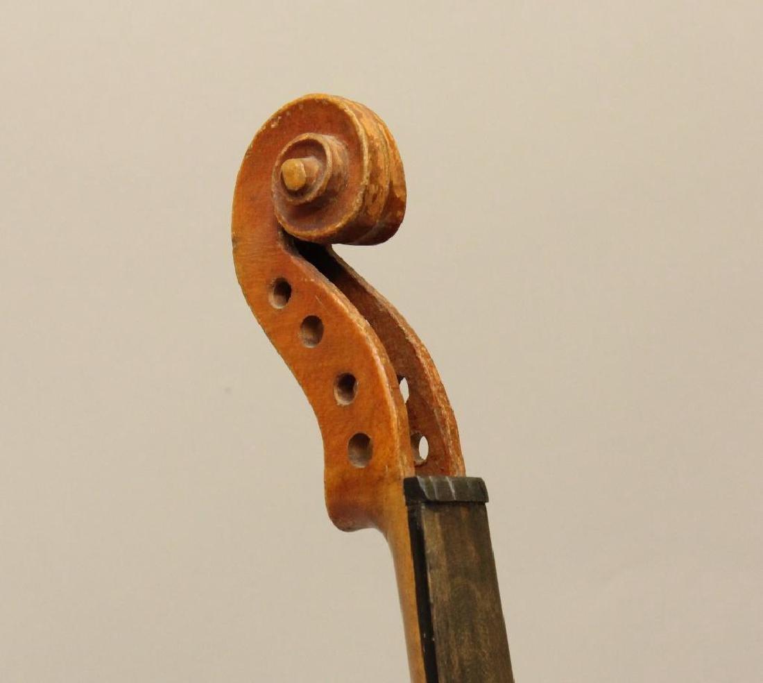 Pair of Unlabled Violins - 4