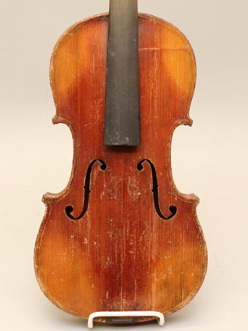 Pair of Unlabled Violins - 5