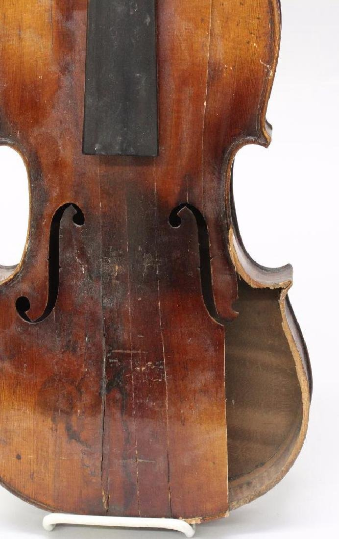 Pair of Unlabeled Violins - 7