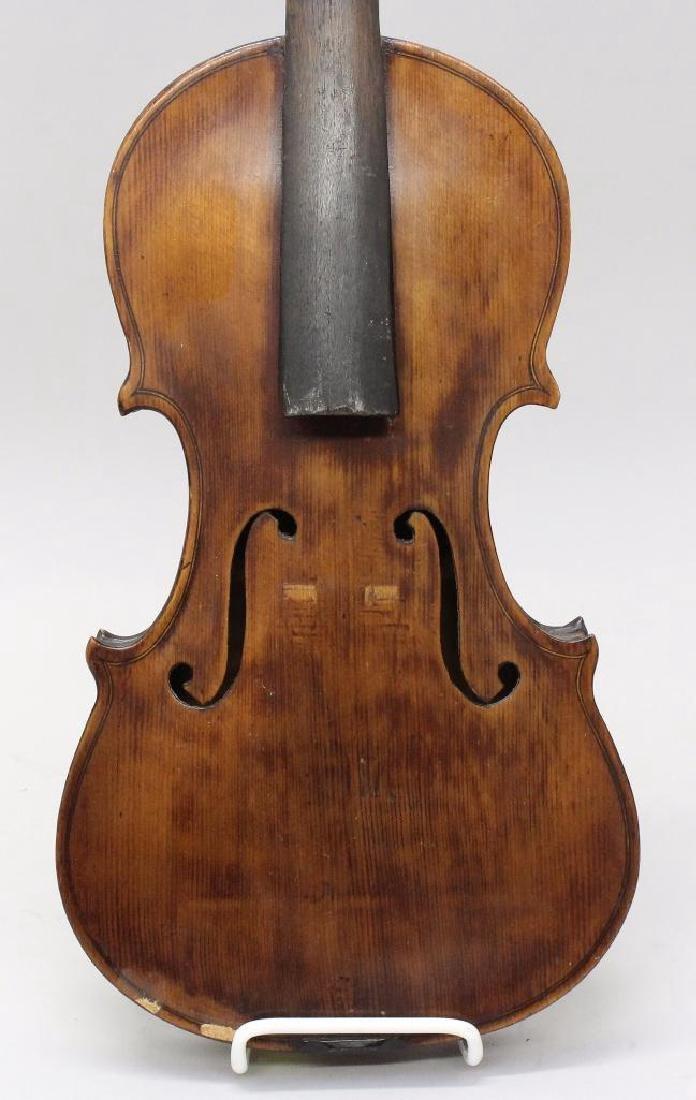 Pair of Unlabeled Violins - 2