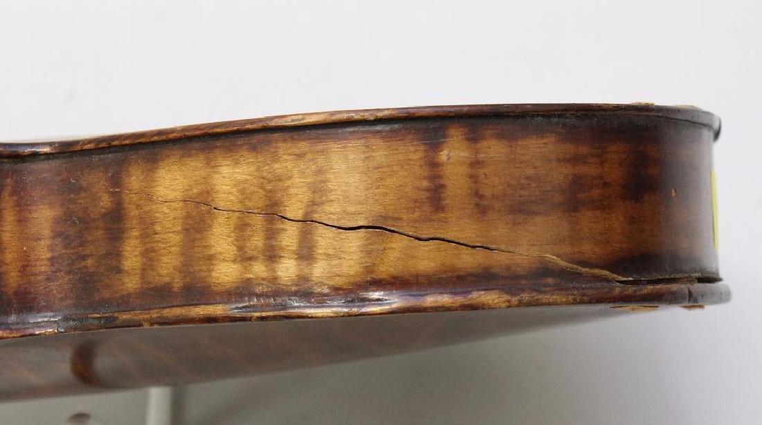 Pair of Unlabeled Violins - 3