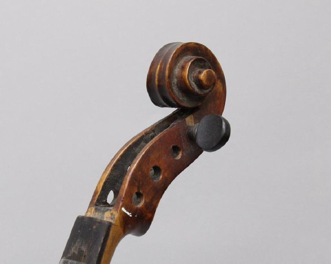 Pair of Unlabeled Violins - 5