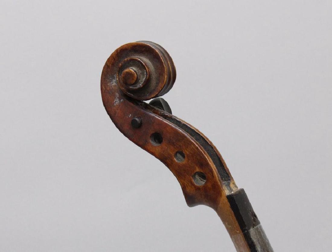 Pair of Unlabeled Violins - 6